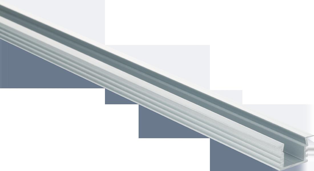 aluminium fl gel profil f r led b nder track f 22 12 t13i. Black Bedroom Furniture Sets. Home Design Ideas